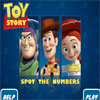 Toy Story Spot the Numbers