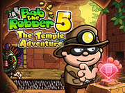 Bob The Robber 5 Temple Adventure HTML5