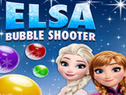 Elsa Bubble Shooter HTML5