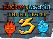 Fireboy and Watergirl 3 Ice Temple HTML5