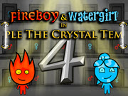 Fireboy and Watergirl 4 in The Crystal Temple HTML5
