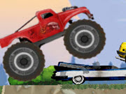 Monster Truck Flip Jumps webGL