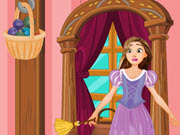 Rapunzel House Cleaning And Makeover