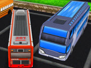 Bus Man Parking 3D 2