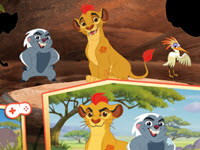Disney The Lion Guard: Assemble HTML5