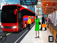 Modern City Bus Driving Simulator