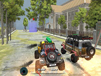 Offroad Monster Truck Forest