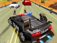 Police Highway Chase Crime Racing
