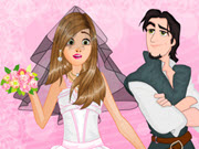 Rapunzel Wedding Spa Makeover
