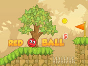 Red Bounce Ball 5: Jump Ball Adventure