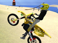 Moto Beach Ride webGL